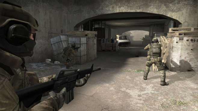 Actionspiel Counter-Strike – Global Offensive: Tunnel © Valve