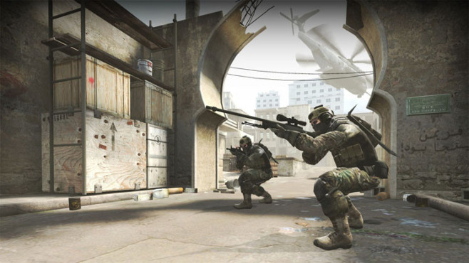 Actionspiel Counter-Strike – Global Offensive: Waffe © Valve