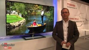 Toshiba 55ZL2G: 3D-Fernseher ohne Brille