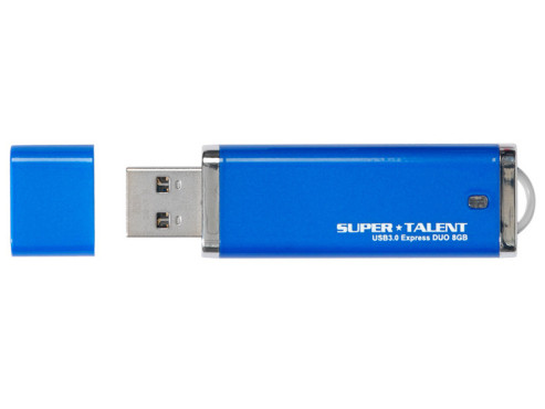 Super Talent/Memq UFD3 8GB ST Express Duo 8GB USB3.0 © COMPUTER BILD
