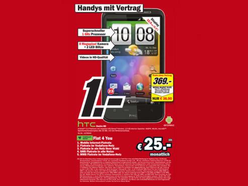 HTC Desire HD ©COMPUTER BILD