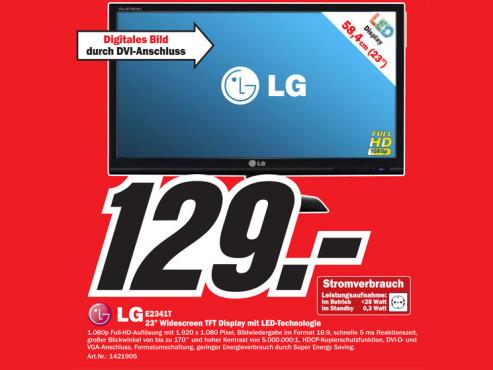LG Electronics E2341T ©COMPUTER BILD