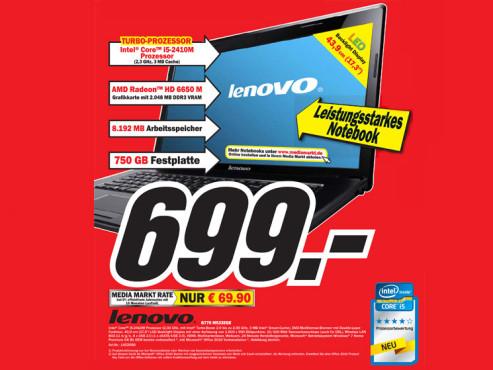 Lenovo G770 M533EGE ©COMPUTER BILD