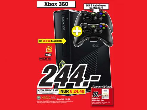 Microsoft Xbox 360 S 250GB ©COMPUTER BILD