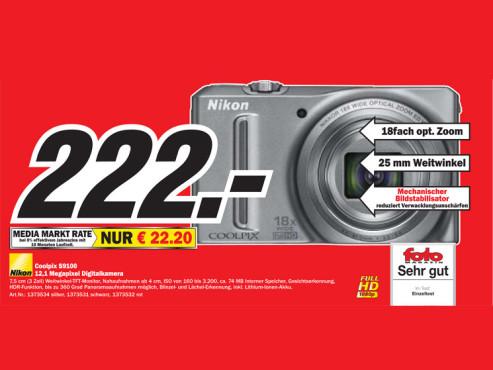 Nikon Coolpix S9100 ©COMPUTER BILD