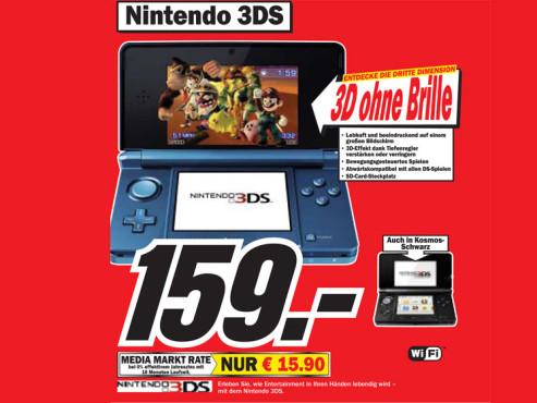 Nintendo 3DS ©COMPUTER BILD