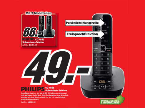Philips CD 4851 © COMPUTER BILD