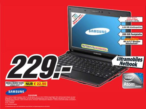 Samsung N145 Plus (NP-N145-JP04DE) ©COMPUTER BILD