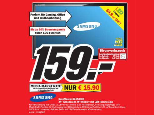 Samsung SyncMaster S24A300B ©COMPUTER BILD