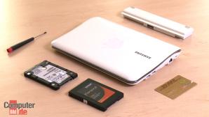 Hardware-Tipp: SSD in Netbook einbauen
