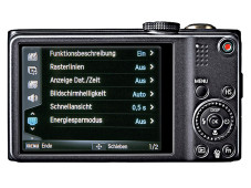 R�ckansicht Samsung WB750 ©COMPUTER BILD