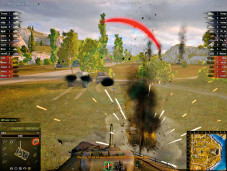 World of Tanks: Beschuss © Wargaming.net