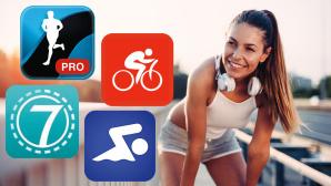 Fitness-Apps ©nd3000-Fotolia.com, Runtastic, MySwimPro, BikeFastFit, Seven/Perigee