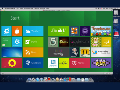 Screenshot Parallels Desktop 8 © Parallels
