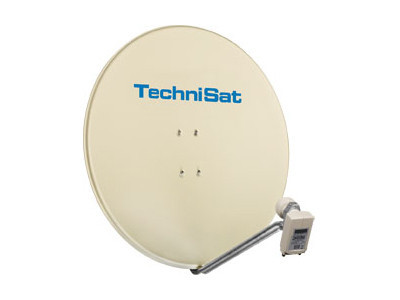 Technisat Satman 850 Plus Quatro LNB ©Technisat