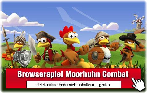 Moorhuhn Combat: Browserspiel ©Phenomedia