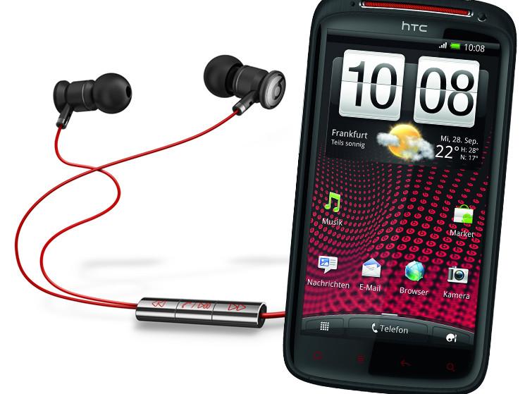 HTC Sensation XE: Erstes Smartphone mit Beats Audio by Dr ...