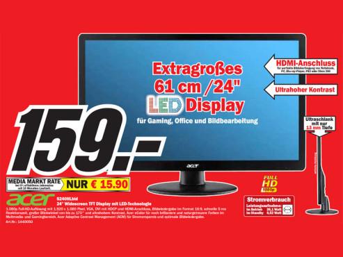 Acer S240HLbid ©Media Markt