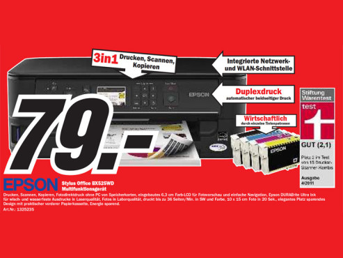 Epson Stylus Office BX525WD © Media Markt