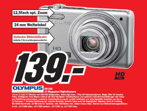 Olympus VR-320 ©Media Markt
