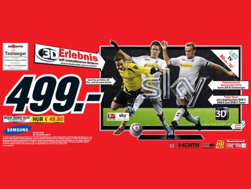 Samsung UE 32 D 6200 ©Media Markt