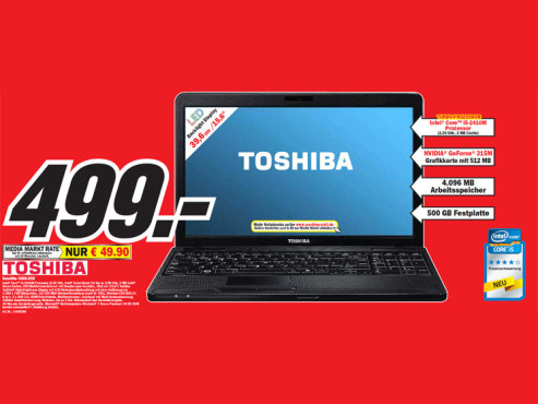 Toshiba Satellite C660-2CR © Media Markt