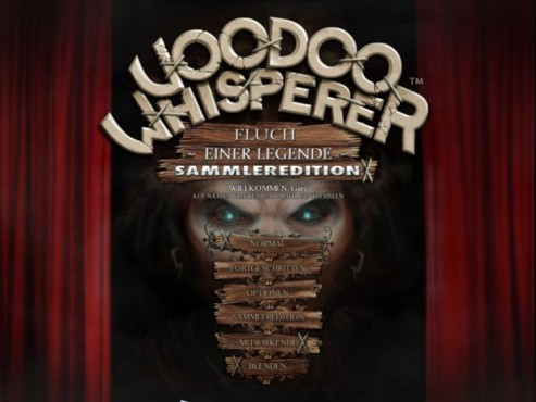 Voodoo Whisperer – Fluch einer Legende: Titel © Intenium