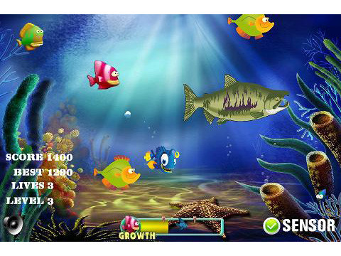 Fishing Game © GameLinkMe