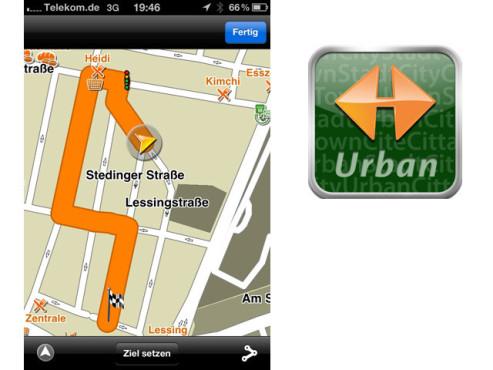 Navigon Urban ©Navigon AG