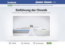 Timeline  Das neue Facebook-Herzstück ©Facebook