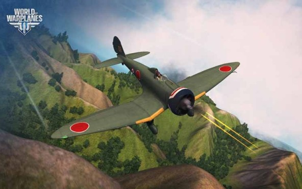 Online-Actionspiel World of Warplanes: Berge © Wargaming.net