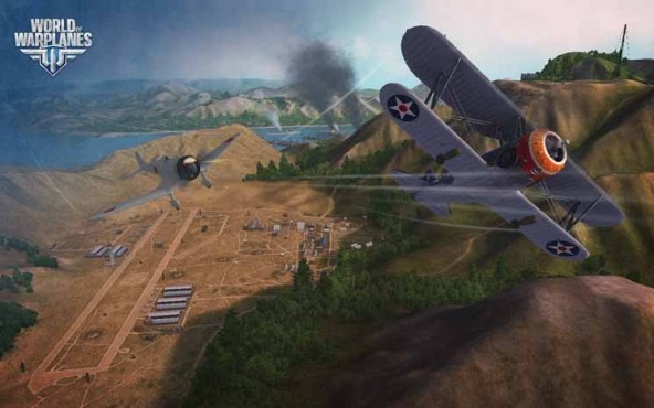 Online-Actionspiel World of Warplanes: Flugplatz © Wargaming.net
