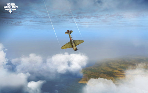 Online-Actionspiel World of Warplanes: Sturzflug © Wargaming.net