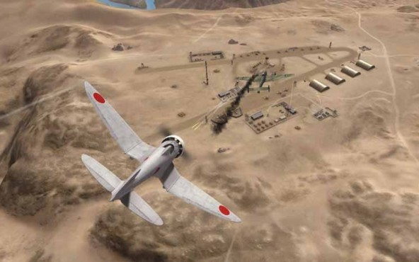Online-Actionspiel World of Warplanes: Wüste © Wargaming.net