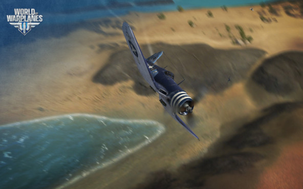 World of Warplanes: Küste © wargaming.net