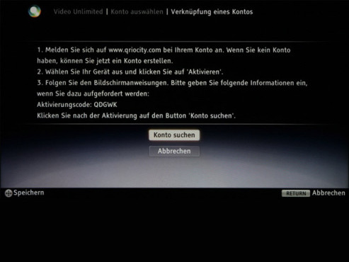 Sony Video Unlimited © COMPUTER BILD