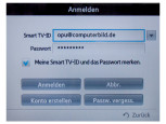 Smart-TV Passworteingabe © COMPUTER BILD