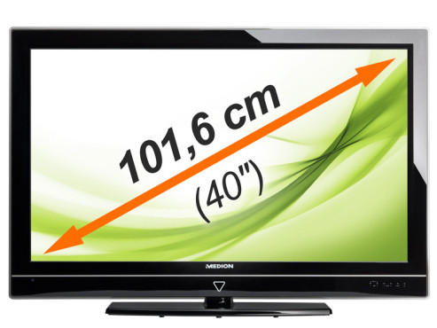 LCD-TV Medion Life S16000 mit LED-Backlight © Medion