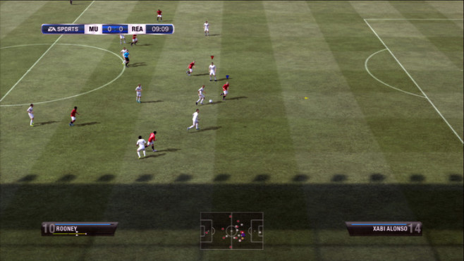Fußballspiel Fifa 12: Pass © Electronic Arts