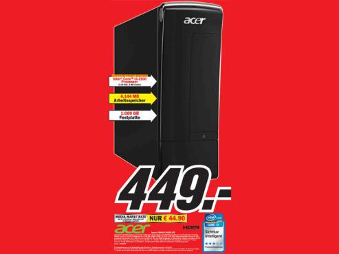 Acer Aspire X3990 PT.SGKE2.075 ©Media Markt