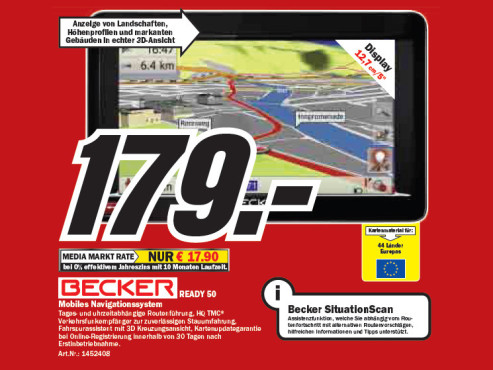 Becker READY 50 © Media Markt
