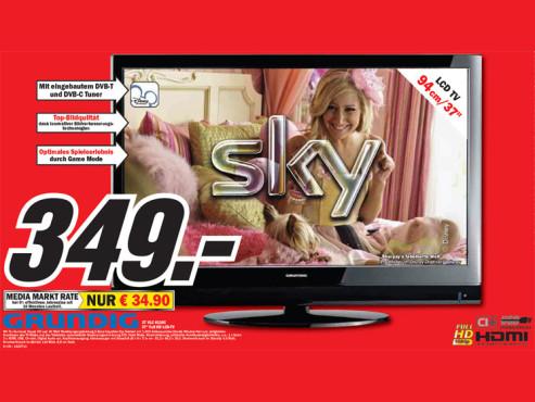 Grundig 37 VLC 6110C ©Media Markt