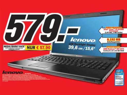 Lenovo G570 M518TGE ©Media Markt