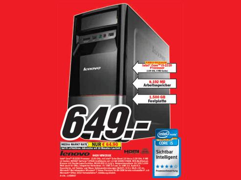 Lenovo H420 VBW3XGE ©Media Markt
