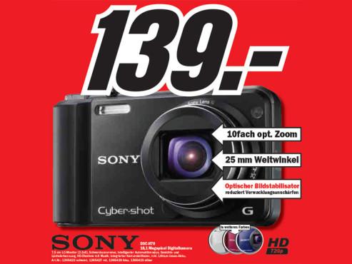 Sony DSC-H70 ©Media Markt