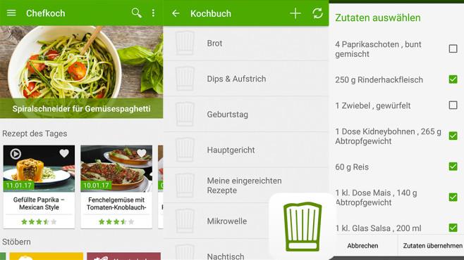 Chefkoch - Rezepte, Kochen, Backen & Kochbuch ©Chefkoch GmbH