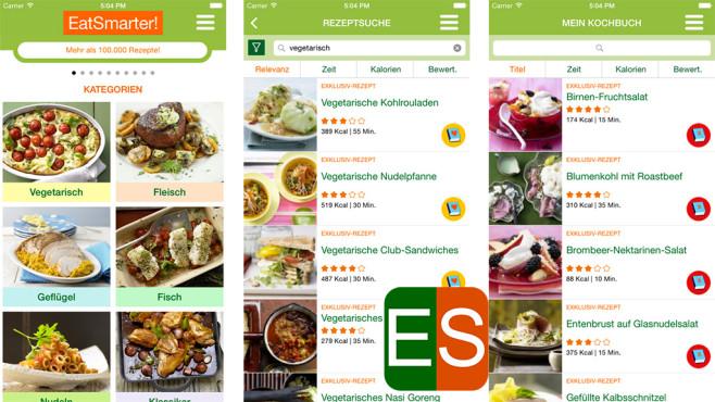 EAT SMARTER – Rezepte zum Abnehmen & Low Carb ©Eat Smarter GmbH & Co. KG