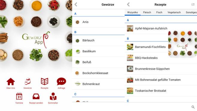 Gewürz-App ©Bayerische Staatsregierung