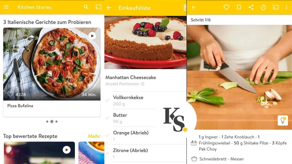 35 Koch-Apps für Smartphones und Tablets - Bilder, Screenshots ...