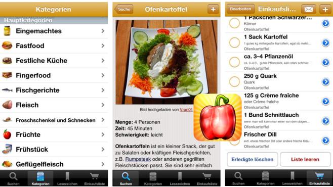 Rezepte App ©Alexander Blach